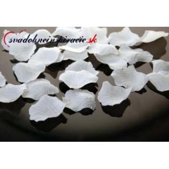 Lupene ruží biele (500 ks) - Obrázok č. 1