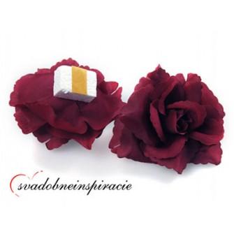 Prilepovacie ružičky - rôzne farby (24 ks) - Obrázok č. 1