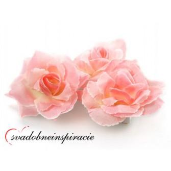 Prilepovacie ružičky - rôzne farby (24 ks) - Obrázok č. 3