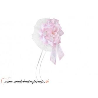 Svadobná ozdoba KYTIČKA - Ružová (4 ks) - Obrázok č. 2