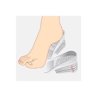 Gélové vložky do topánok na zvýšenie vzrastu (2,5) - Obrázok č. 1