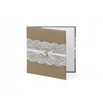 Obal na svadobné CD/DVD Vintage - Obrázok č. 1