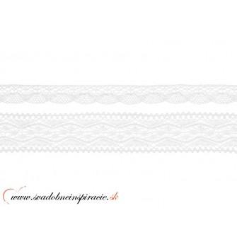 ČIPKA paličkovaná, 2 ks (šírka 2 a 3,5cm) - Obrázok č. 2