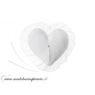 Vankúšik na obrúčky LOVE - Obrázok č. 1