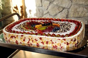 Výborný dort...:)Foto by Jimmy