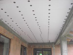 Zateplený strop na terase