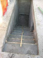 Zabetónované schody