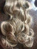 Nepouzity pricesok - 60 cm - melirovana blond,