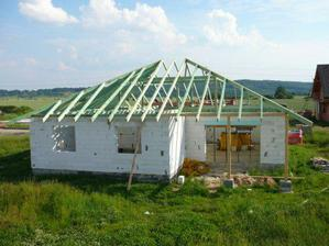 .. červen 2007 - střecha ..