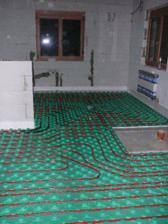 .. listopad 2007 - podlahové topení ..