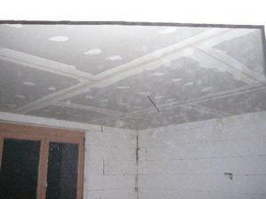 .. prosinec 2007 - sádrokartonové stropy ..