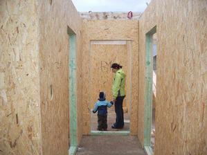 chodba a detske izby