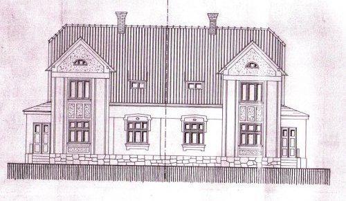 Náš dům-domov budoucí - Tak to je stav původní (rok 1922) a snad i stav cílový, chceme domu co nejvíce vrátit původní podobu