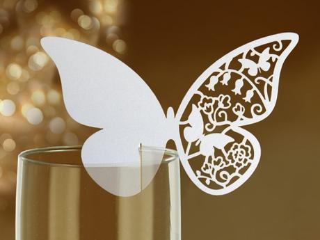 Jmenovka motýlek - 10 kusů v balení - Obrázek č. 1