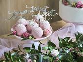 Ozdoby na cupcakes Love strieborné (6ks),
