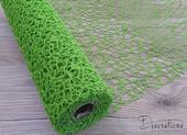 Dekoračná pavučinka zelená 30cm,