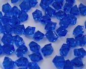 Dekoračné kryštály kráľovské modré 15mm,