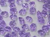 Dekoračné kryštály svetlofialové 15mm,