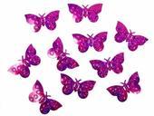 Konfety cyklaménové motýle,