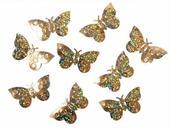 Konfety zlaté motýle,