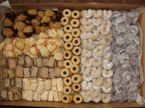 První letošní cukroví:-)