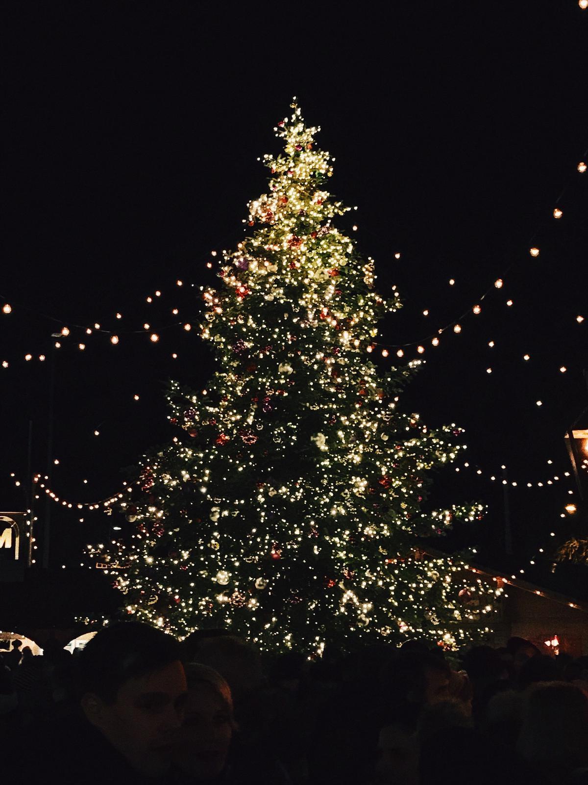 Vianoce 2016 - nadherny stromcek, minulorocny ak si dobre spominam bol farebny.. alebo len gule? an nevim uz