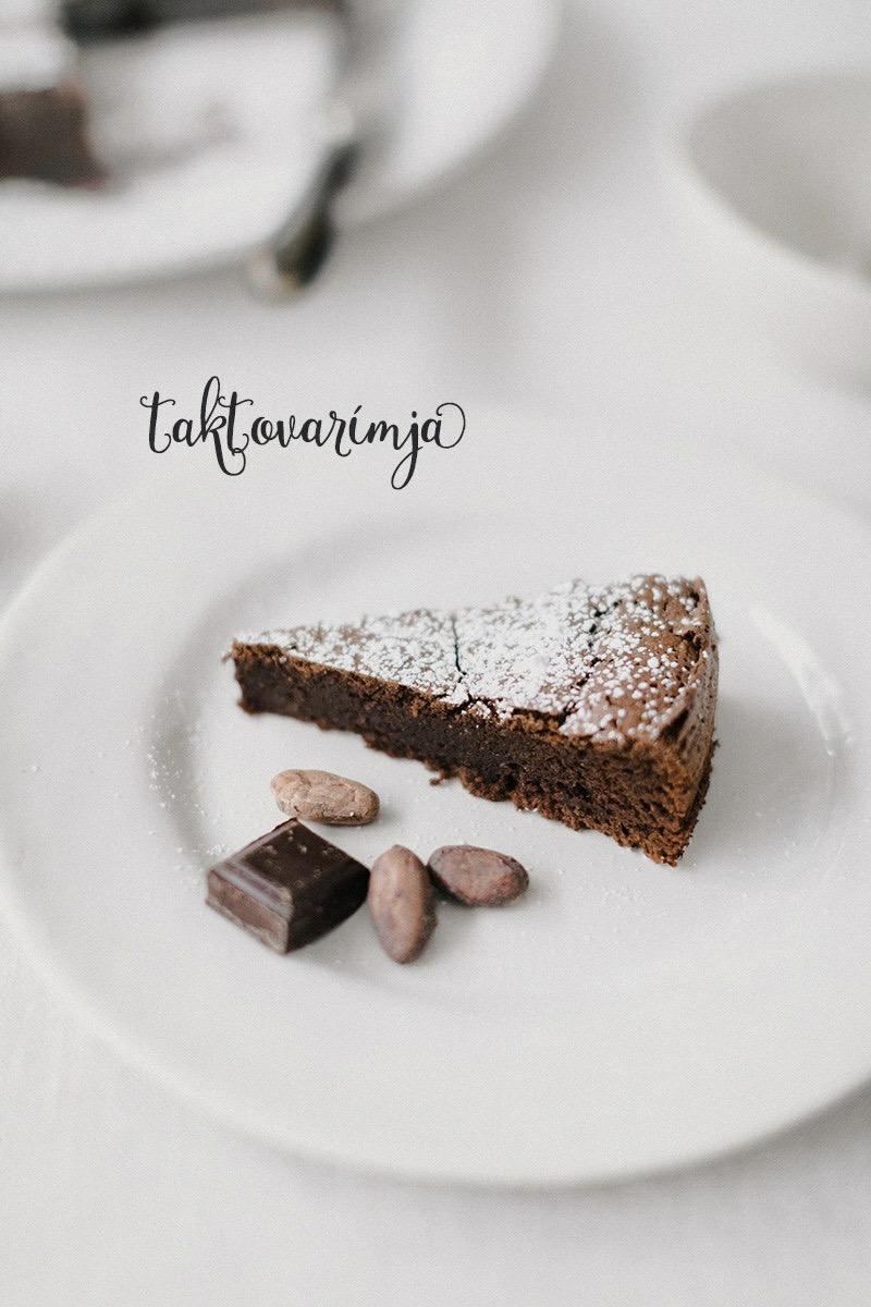 Toskansky cokoladovy kolac bez muky.. kto chcete recept sledujte na fb stranku taktovarimja.. - Obrázok č. 1