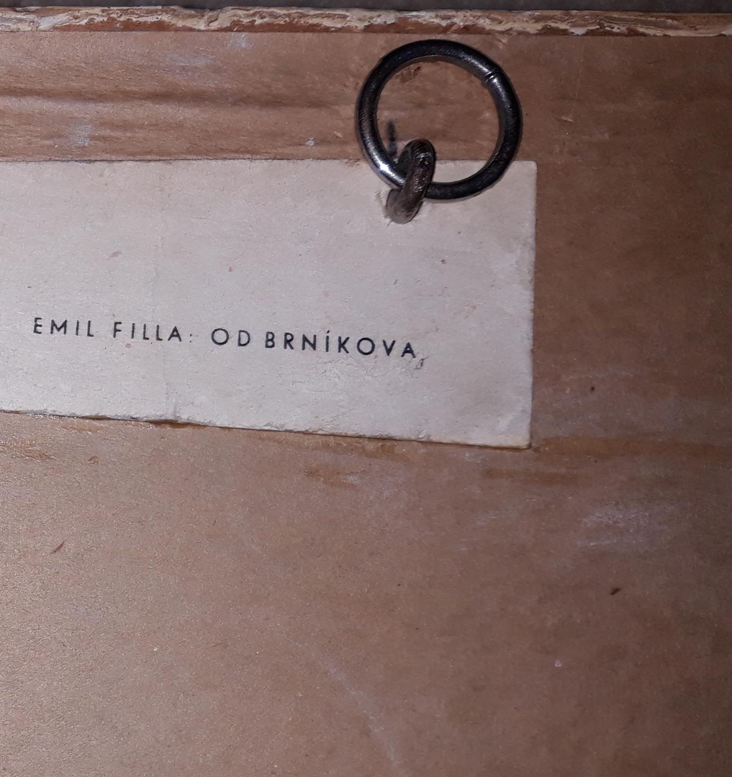 """Obraz"""" Od Brníkova""""- Emil Filla - Obrázok č. 2"""