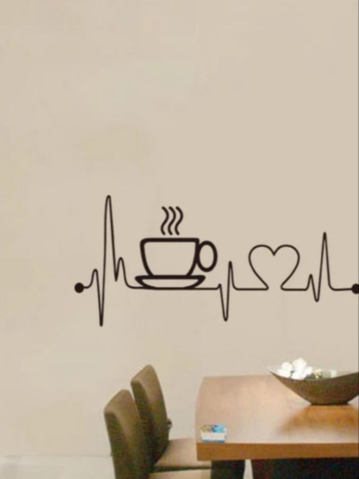 Nálepka do kuchyne pre kávičkárov - Obrázok č. 2