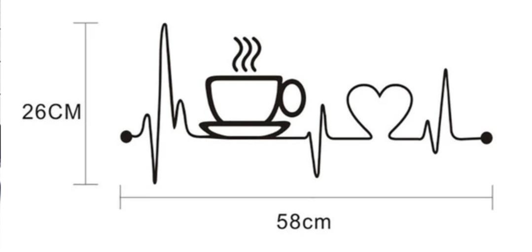 Nálepka do kuchyne pre kávičkárov - Obrázok č. 3