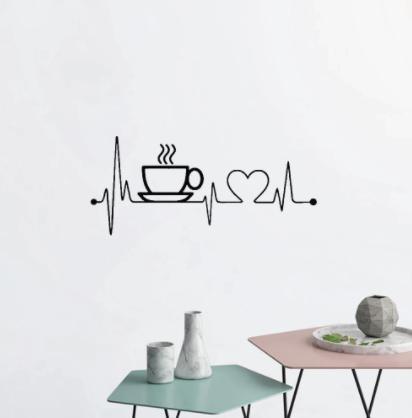 Nálepka do kuchyne pre kávičkárov - Obrázok č. 4