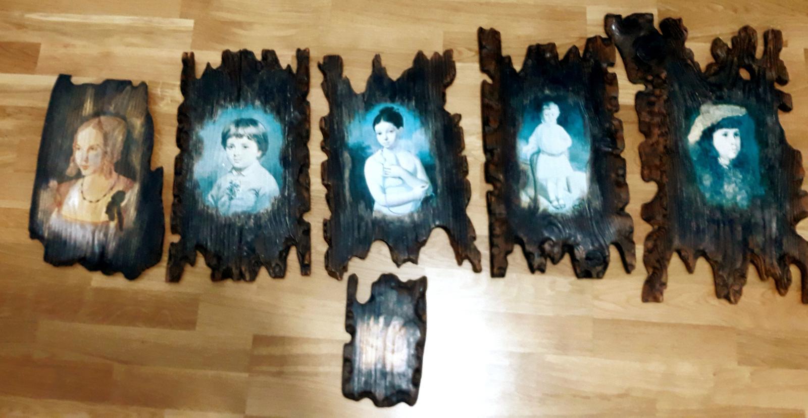drevené obrazy- originály-nikto také nemá - Obrázok č. 1