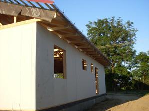 strecha pripravená na pokládku krytiny :)