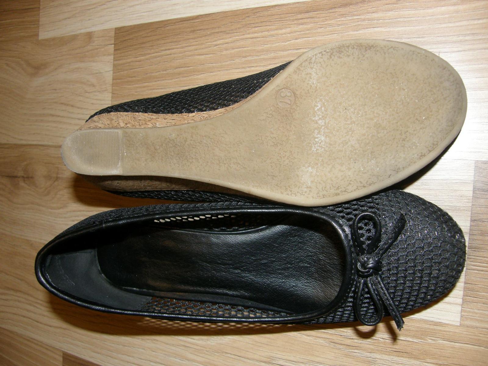 Topánky s klinovým opätkom - Obrázok č. 4