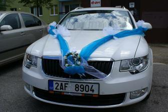 Nevěstin svatební kočár :o)