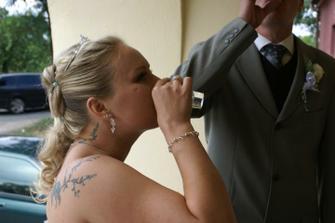 Nevěsta vyhrála a ženich měl vodu :o)