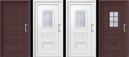 vchodové dveře (ty napravo)