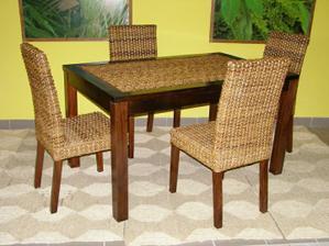 Ty židle jsou super, jen bych volila jinej stůl. :-)
