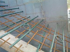Priprava na schody do podkrovia