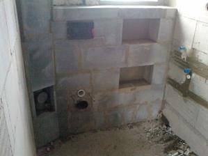 spodne WC obmurovane