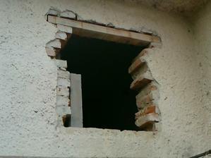zvacsovanie okna a vyrovnanie otvoru v technickej