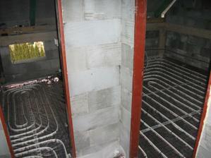 podlahvka -rurky polozene