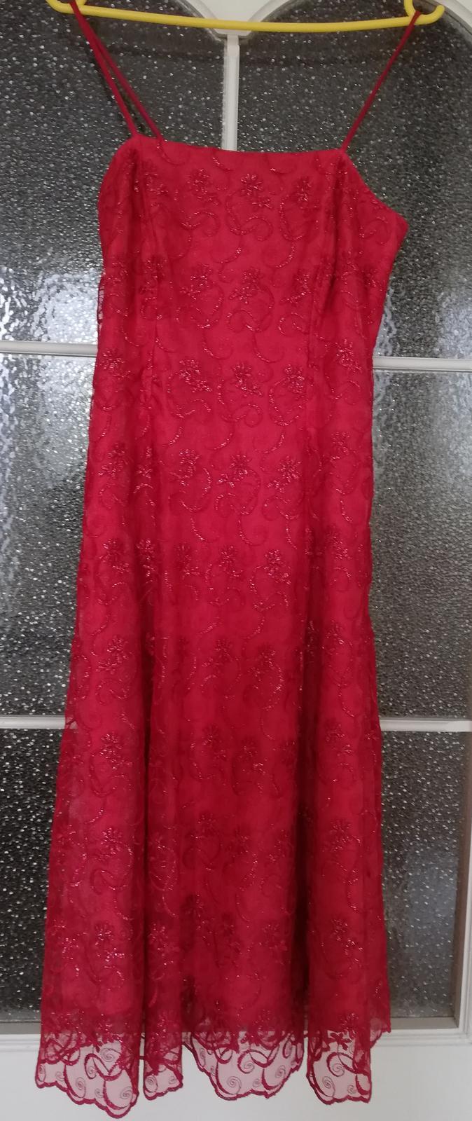 Spoločenské šaty s čipkou - Obrázok č. 4