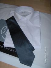 kosile a kravata na svatbu kamaradky:-)