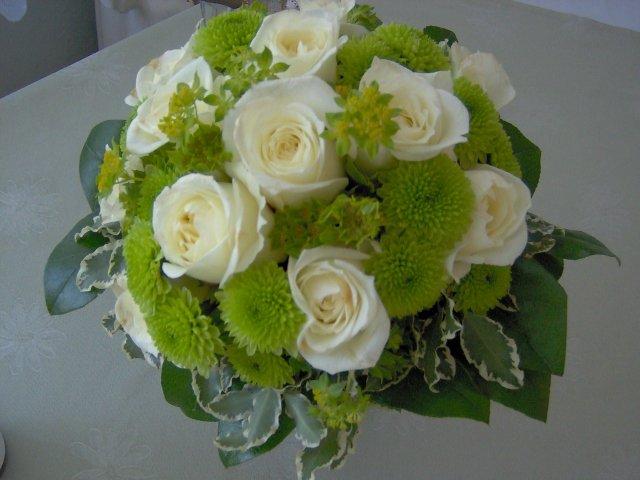 Radka{{_AND_}}Jan - moje kytička ráno po svatbě / my bouquet the day after, still looking lovely