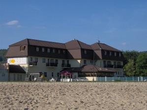 """svatební cesta - Lipno,ráj na zemi:-) tohle byl náš hotýlek,jmenuje se Na pláži / our honeymoon at the lake Lipno, hotel """"On The Beach"""""""