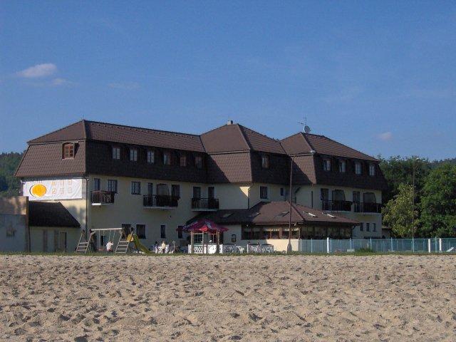 "Radka{{_AND_}}Jan - svatební cesta - Lipno,ráj na zemi:-) tohle byl náš hotýlek,jmenuje se Na pláži / our honeymoon at the lake Lipno, hotel ""On The Beach"""
