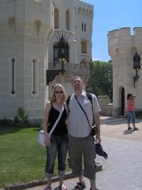 Radka{{_AND_}}Jan - castle Hluboká