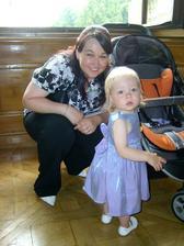 moje sestřička se svou dceruškou Natálkou