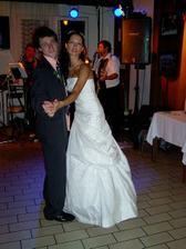taneček s bratránkem Dominikem